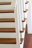 Staircase interior at home Royalty Free Stock Photo