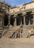 Staircase of Mandapam. Royalty Free Stock Images