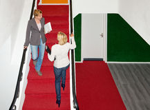 Staircase meeting Stock Photos