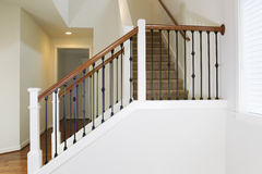 Staircase in Modern Home Stock Image
