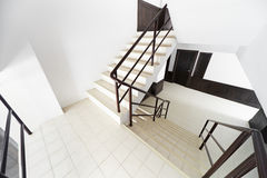 Staircase in a modern hotel Stock Photography