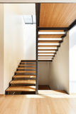 Staircase of a modern house Stock Image