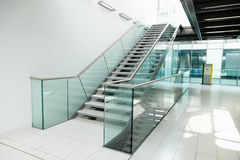 Staircase in modern office building Royalty Free Stock Photography