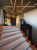 Staircase in a modern villa Stock Photography