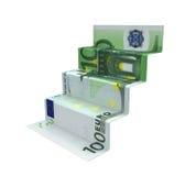Staircase Money Origami Stock Photo