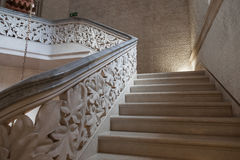 Staircase in Monserrate Palace Stock Image