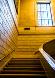 Staircase in the National Gallery of Art, Washington, DC. Royalty Free Stock Photos