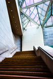 Staircase in the National Gallery of Art, Washington, DC. Royalty Free Stock Image
