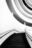 Staircase in the National Museum of the American Indian, in Wash Royalty Free Stock Image