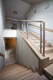 Staircase in a new house Stock Image