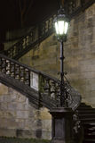 Staircase at night Stock Photos