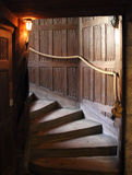 Staircase in an old castle Royalty Free Stock Photo