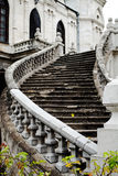 Staircase of an old gothic church Royalty Free Stock Photos