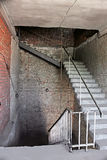 Staircase of old overage house Stock Photography