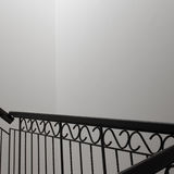 Staircase original decor. White and elegance Stock Photography