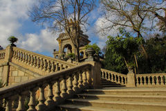 Staircase in the parc de la Ciutadella Royalty Free Stock Photography