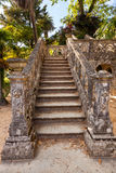 Staircase in the park of Monserrate Palace Royalty Free Stock Images