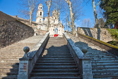 Staircase of penance Stock Photo