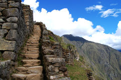 Staircase - Peru Stock Photo