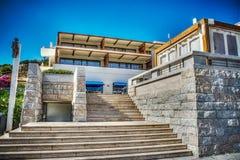 Staircase in Porto Cervo Stock Photos