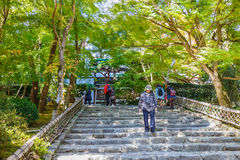 Staircase at Ryoan-ji Temple Royalty Free Stock Image
