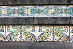 Staircase of Santa Maria del Monte Stock Photos