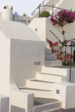 Staircase on Santorini island Stock Images
