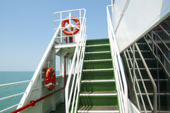 Staircase in the ship Royalty Free Stock Photography