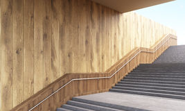 Staircase sideview Royalty Free Stock Images