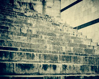 Staircase in Siena.Italia Stock Images