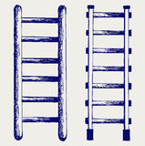 Staircase sketch Stock Photography