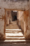 Staircase in a small village, Morocco Royalty Free Stock Photos