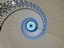 Staircase. Spiral staircase london Stock Photography