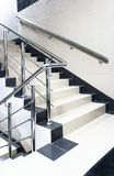 Staircase with stair railing Stock Photos