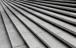 Staircase steps. Perspective views of the stair steps at the National Monument in Kuala Lumpur, April 23, 2017 stock images