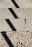 Staircase steps with shadow Stock Photography
