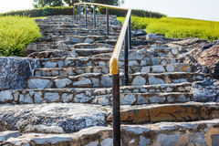 Staircase in stone Royalty Free Stock Image