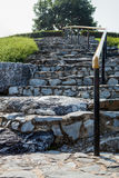 Staircase in stone Stock Photography