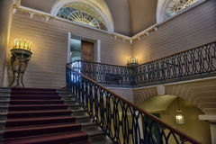 Staircase Stroganov Palace. Stroganov Palace interiors. Palace was built to Rastrelli's designs in 1753-1754. Now - branch of the Russian Museum Royalty Free Stock Photography