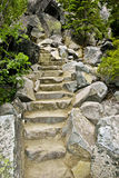 Staircase to Eagle Falls Lake Tahoe Royalty Free Stock Photos