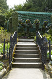 Staircase to Garden Royalty Free Stock Photography