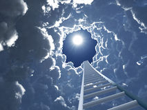Staircase to heaven Stock Photo