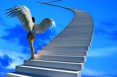 Staircase to heaven. Royalty Free Stock Photos