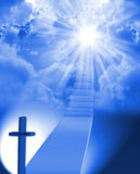 Staircase to heaven Royalty Free Stock Images