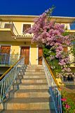 Staircase to a house Royalty Free Stock Photos