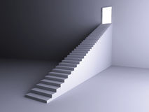 Staircase to the Light Stock Image