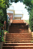 Staircase to monticello Stock Image