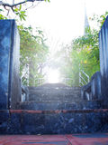 Staircase to otherworldly Royalty Free Stock Photography