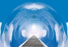 Staircase to paradise Stock Photo