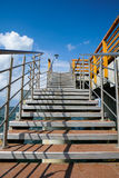 Staircase to pier Royalty Free Stock Photos